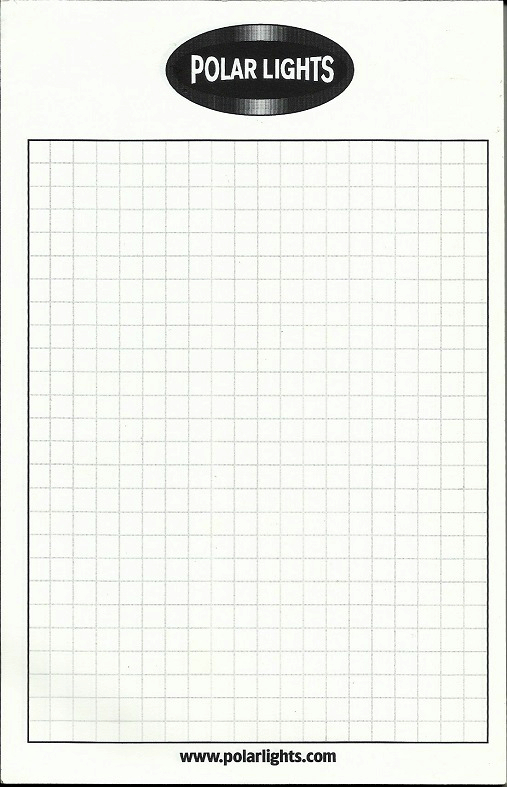 Polar Lights Note Pad - Graph Paper